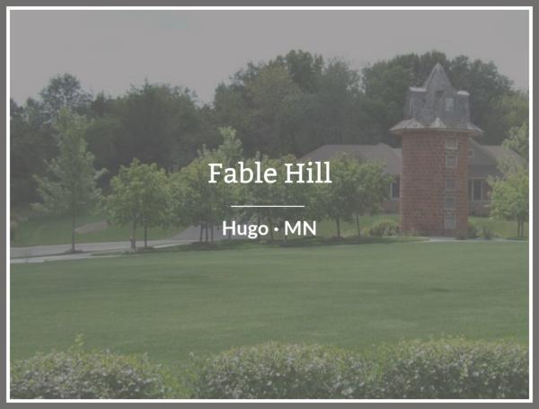 Custom Home builders in Fable Hill Hugo Minnesota