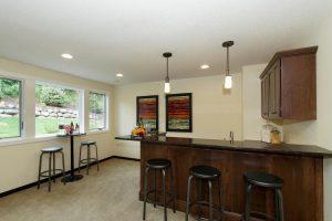 Custom wet bar, custom home builder Woodbury MN