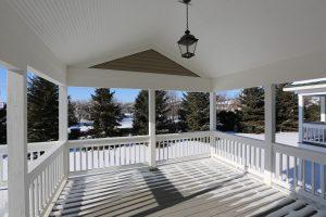Pratt Homes Porch, custom Home builders twin cities mn