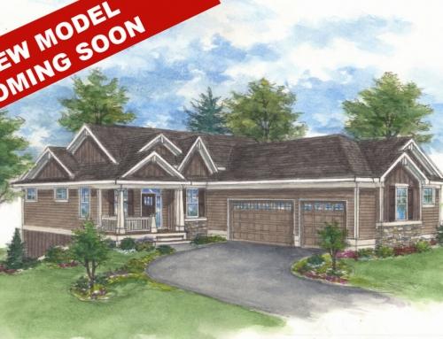 Progress on The Madison – New Model in The Villas at Twenty-One Oaks