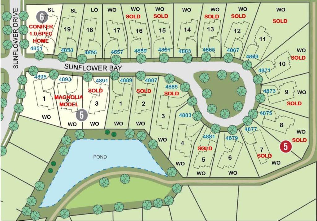 Twenty One Oaks Woodbury Available Lots
