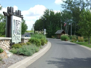 Entrance to Fable Hill in Hugo MN