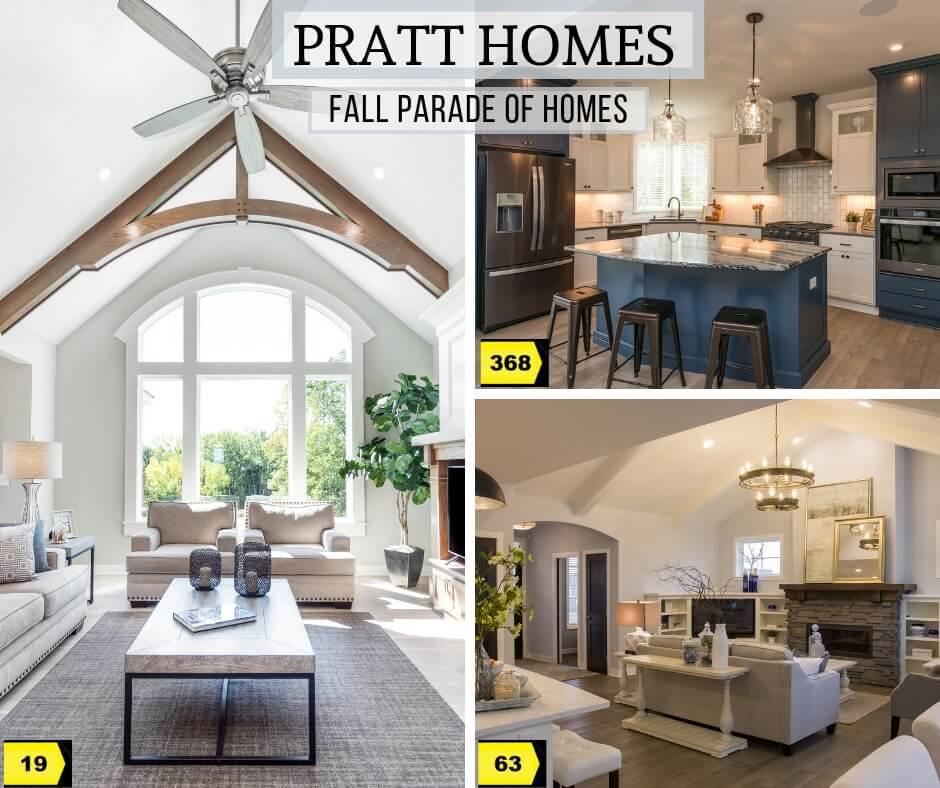 Fall Parade of Homes, Pratt Homes