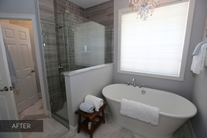 master bath remodel in Woodbury MN
