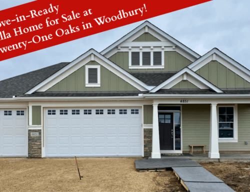 Move-in-Ready Villa Home for Sale at Twenty-One Oaks in Woodbury!