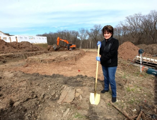 New Groundbreaking in The Villas of Fable Hill
