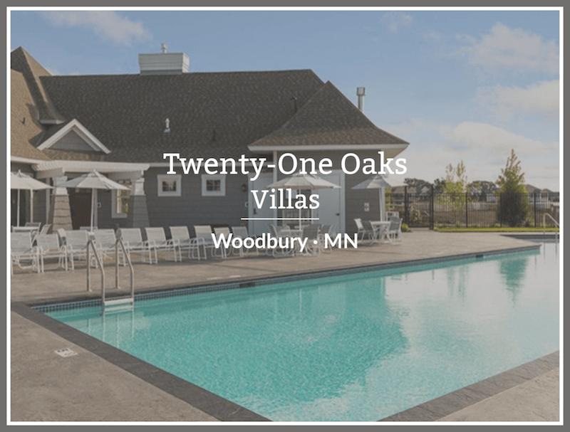 custom home builders in Twenty One Oaks Woodbury Minnesota
