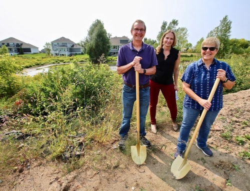 New Groundbreaking in the Villas at Fable Hill